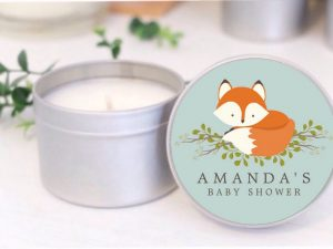 blue fox soy candle mahina