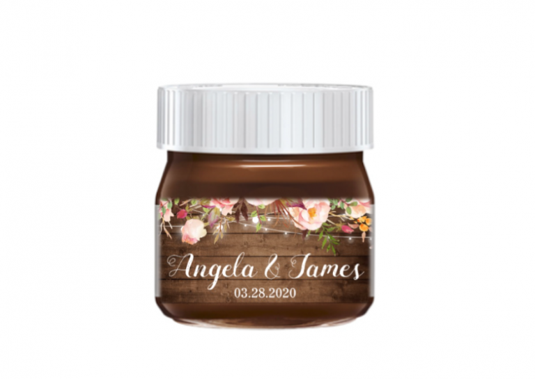 nutella rustic wood floral