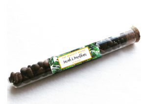 tropical coffee bean test tube by mahina