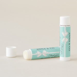Tiffany themed lip balm by Mahina