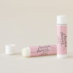 bridal shower lip balm
